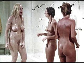 Dusch-szene Aus. Gefängnis Mädchen, Jahrgang