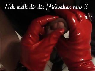 Arschlady Angelique Cfm Stiefel Lange Handschuhe Enges Korsett !!