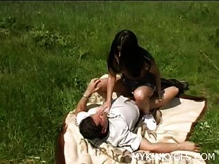 Hot Picknick Mit Freundin