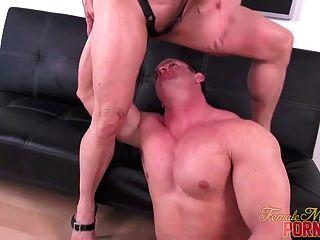 Sexy Muskel Ficken