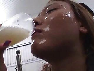 Cum Trinken Schlampen 2