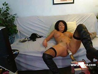 Vollbusige Isis Monroe Live-webcam-sex-maschine
