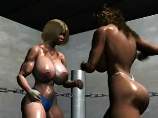 Fpz3d Sara Vs Sofia 3d Catfight