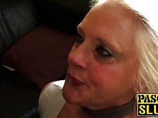 Ungezogen Oma Carol Ist Für Einige Wirklich Schmutzig Verdammt Hungrig