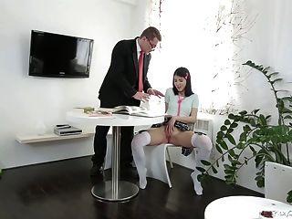 Tricky Alten Lehrer - Jody Spielte Mit Ihrer Pussy