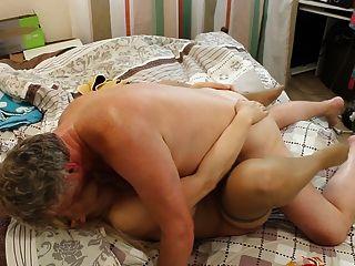 Tania Blonde Russische Milf Langsam Ficken Hure