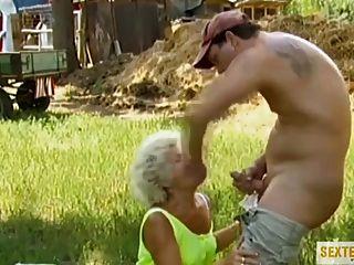 Abartiger Sex Mit Oma