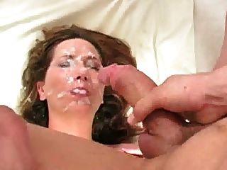 Gib Mir Dein Sperma Auf Meinem Gesicht