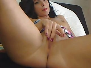 Hübsche Küken Auf Sinnliche Pussy Masturbation