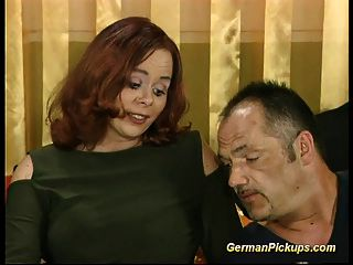 Abgeholt Chubby Deutsch Redhead