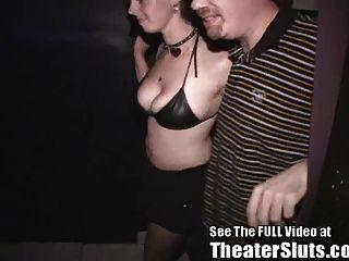Missy Bekommt Arsch Tulpe \u0026 Creampie Aus Dirty D Im Porno Theatre