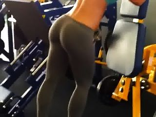 Fitnessstudio Körper Ist Perfekt Für Fucking