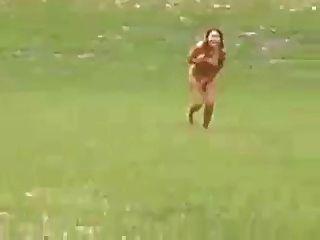 Zwei Mädchen Streifen
