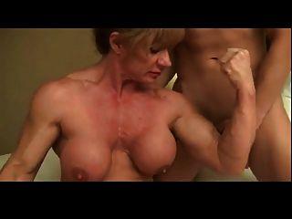 Mann Liebt Muskel Frau Herrschaft Bvr