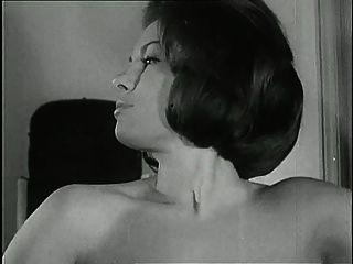 Vintage Erotisches Blau