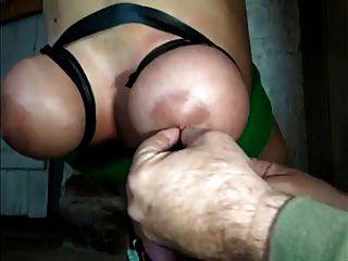 Sklave Hängen Hogtied