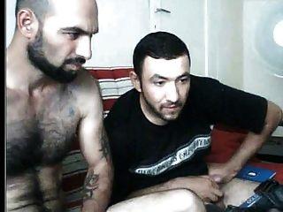 Zwei Türken Genießen ... In Cam