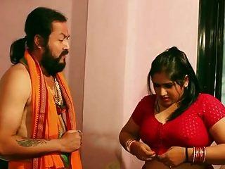 Swamiji Genießt Mit Wunderschönen Bhabhi