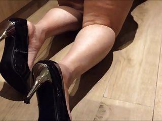 Indische Desi Frau Tante Sexy Show