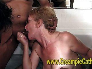 Massiver Schlampiger Creampie