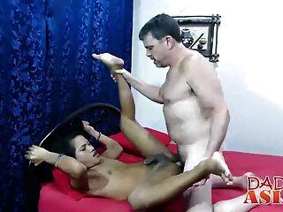 Daddy Fucking Geil Asian Twink Russel