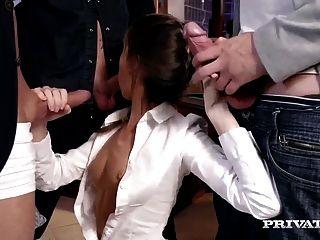 Gina Gerson Bekommt Privatunterricht, Wie Man Gangbang