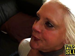 Freche Oma Carol Ist Hungrig Nach Etwas Richtig Dreckigem Ficken