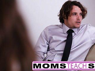 Mutter Verführt Nicht Sohn In Harten, Schnellen Fickstunden