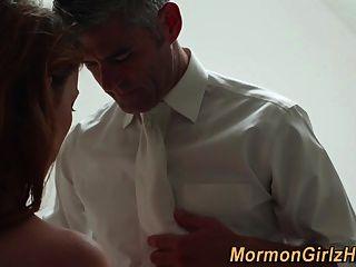 Teen Mormon Tits Gesalbt