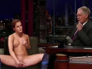 Emma Watson In Einer Talkshow
