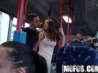 Mofos Mofos B Seiten Bonnie Public Sex Stadtbus-filmmaterial