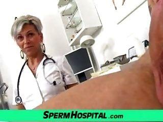 Medizinische Cfnm Handjob Mit Euro Ehefrau Beate