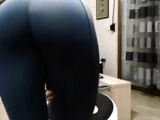 Arsch In Yogahosen Necken