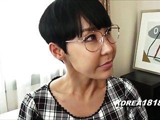 Hässliche Koreanische Milf Mit Brille In Japan