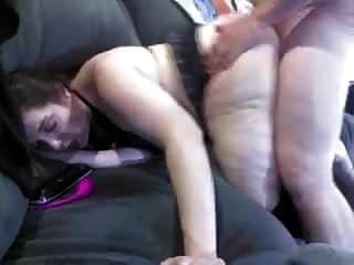 Schöne Mollige Schlampe Lady Dicken Arsch Doggy Gefickt