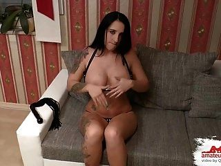 Perverses Anal Casting Rosette Randvoll Gestopft