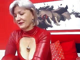 Oma Große Titten Masturbation Webcam