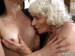 Alte Frau Norma Und Ihre Jüngere Lesbische Freundin