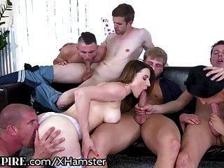Biempire 5 Studs Und 2 Chicks Buttfucking Bi Orgie